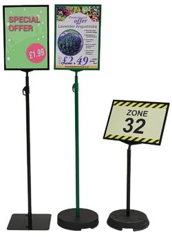 Floor Standing Signs Green Magic Co