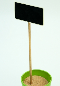 Wooden blackboard stakes